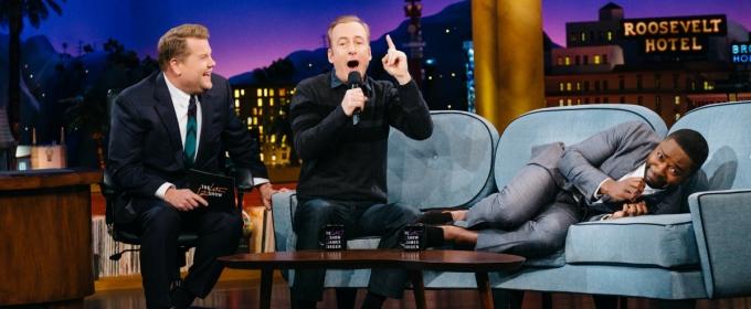 VIDEO: Bob Odenkirk Auditions for Spot on Corden's CARPOOL KARAOKE