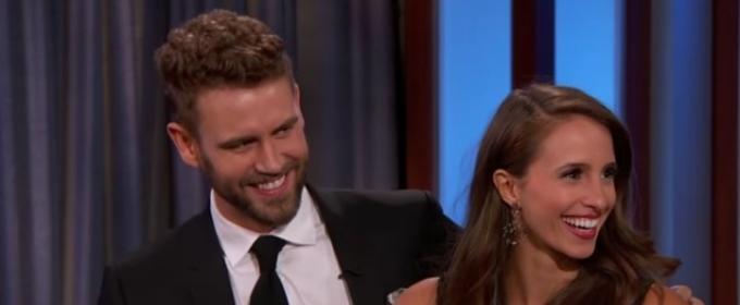 VIDEO: Jimmy Kimmel Talks to Bachelor Nick Viall & Fiancee Vanessa Grimaldi