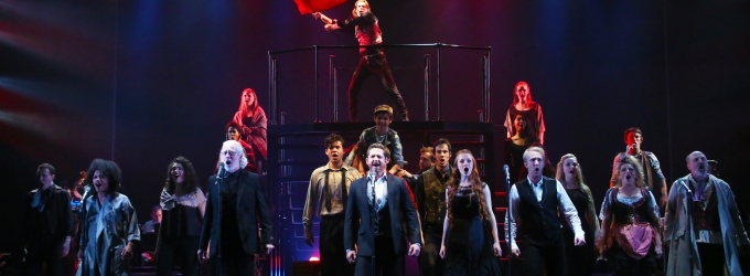 Photo Flash: First Look at Terrence Mann, David Harris and More in CRT's LES MISERABLES