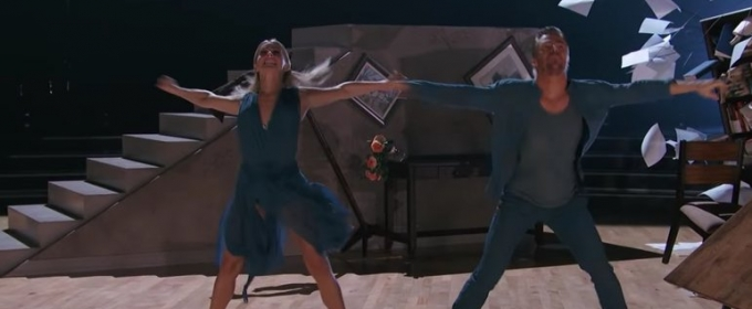 VIDEO: Derek and Julianne Hough Return to DWTS Stage for Moving Performance