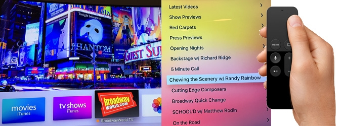 The Future Has Arrived! BroadwayWorld.com Launches 'First to Market' App on New Apple TV
