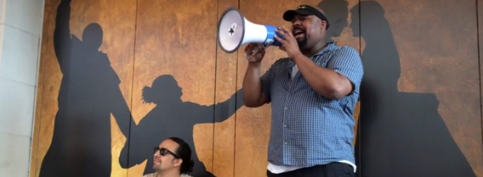 STAGE TUBE: ALADDIN's James Monroe Iglehart Brings a Little RAGTIME to #Ham4Ham Lottery