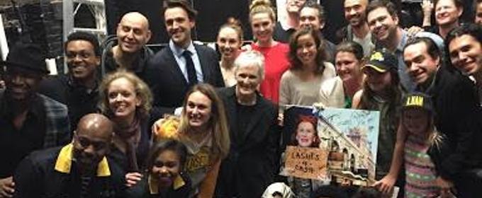 VIDEO: The Battle of Fundraising? Glenn Close and SUNSET BOULEVARD Crash HAMILTON