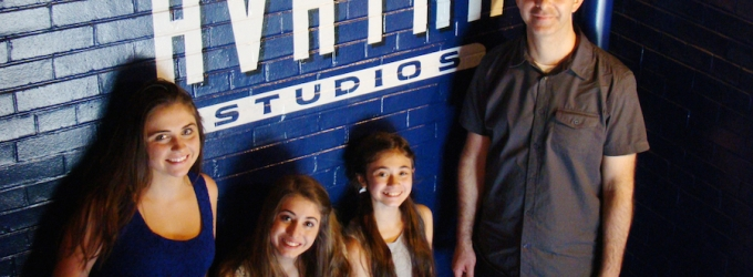 Broadway Sisters Record New Musical at Avatar Studios
