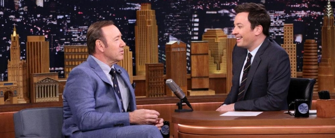 VIDEO: Kevin Spacey Reacts to TONY AWARDS Hosting Gig on 'Tonight'