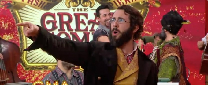 VIDEO: Josh Groban & Cast of 'GREAT COMET' Perform 2 Songs Live on GMA!