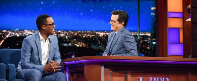 VIDEO: Tony Nominee Corey Hawkins Recalls Nightmarish Juilliard Audition on LATE SHOW
