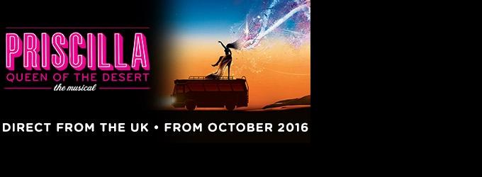 PRISCILLA QUEEN OF THE DESERT Announces Full Cast - Simon Green, Andre Torquato, Bryan Buscher-West and More; Oct. 14
