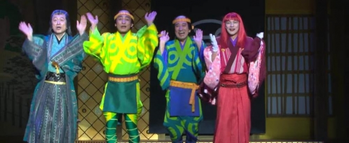VIDEO: Get A First Look at A FUNNY THING HAPPENED ON THE WAY TO THE FORUM in Japan!