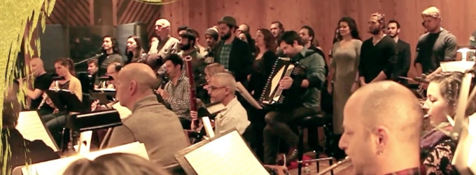 STAGE TUBE: Sitzprobe Time In Anatevka  FIDDLER ON THE ROOF Cast Meets  Their Orchestra