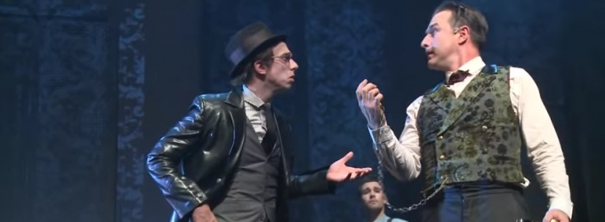 STAGE TUBE: Sneak Peek at Highlights and More of SHERLOCK HOLMES in Chicago, Starring David Arquette