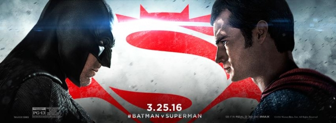 BATMAN V SUPERMAN is Top Super Hero Movie Opening of All Time; Earns $424.1 M at Global Box Office