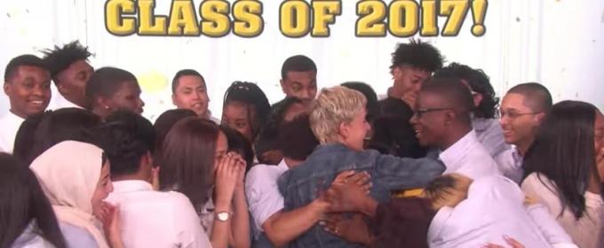 VIDEO: Ellen Surprises Entire Senior Class with 4-Year College Scholarship