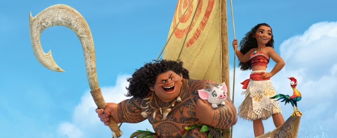 Sing-Along Version of Disney's MOANA Sails into Theaters 1/27!