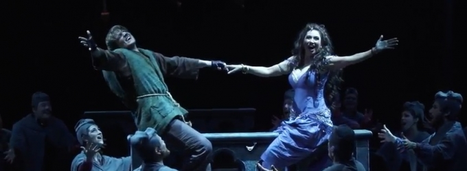 STAGE TUBE: Watch Highlights of HUNCHBACK at Music Circus - Starring Deaf Actor John McGinty, Lesli Margherita, Mark Jacoby and More!