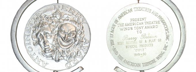 GYPSY's 1990 Tony Award for Best Revival to Be Auctioned in L.A.