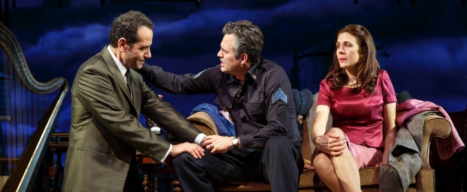 Photo Flash: First Look at Mark Ruffalo, Tony Shalhoub & More in THE PRICE on Broadway