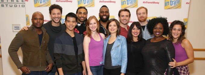 Photo Coverage: Meet the Aca-Awesome Company of IN TRANSIT on Broadway!