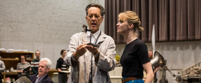 Photo Flash: In Rehearsal with Lisa O'Hare, Richard E. Grant, Bryce Pinkham and More for MY FAIR LADY at the Lyric