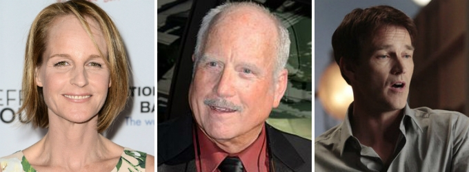 Stage Vets Helen Hunt, Richard Dreyfuss and Stephen Moyer Board FOX's New Series SHOTS FIRED