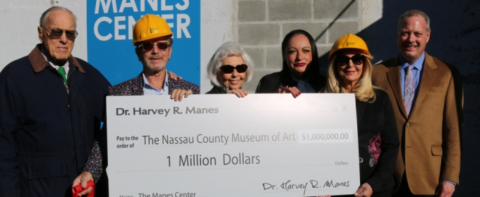 Nassau County Museum of Art Breaks Ground on The Manes Family Center for Arts & Education to Open in 2017
