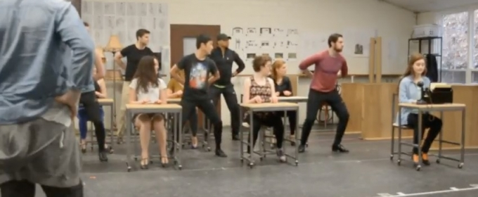 VIDEO: First Look at Rehearsals for Goodspeed's THOROUGHLY MODERN MILLE