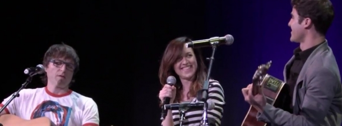 STAGE TUBE: Darren Criss, Lena Hall, & Stephen Trask Preview HEDWIG Tour in Latest Performance