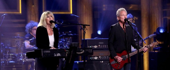 VIDEO: Lindsey Buckingham and Christine McVie Perform 'In My World' on TONIGHT
