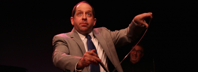 STAGE TUBE: Jason Kravits Plays His Last Performance in OFF THE TOP June 6th