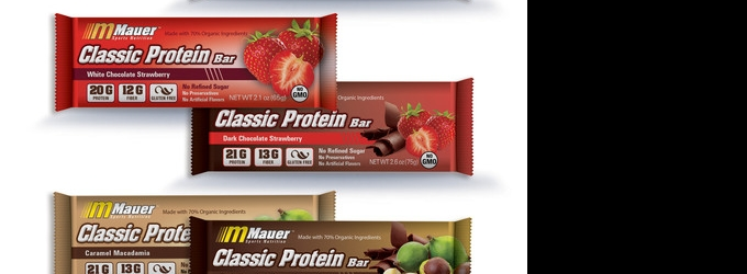 Fit Food Finds: MAUER SPORTS NUTRITION Power and Protein Bars