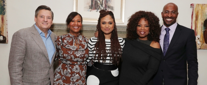Photo Flash: Oprah, Ava DuVernay, Van Jones Talk Netflix's 13TH on MLK Weekend