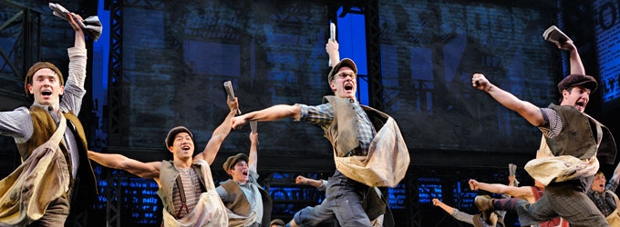 BWW Reviews: Extra! Extra! A Stellar NEWSIES At The Hobby Center!