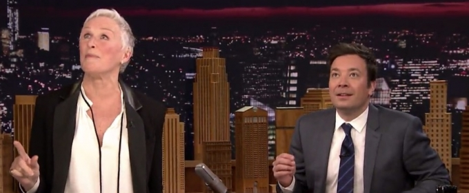 VIDEO: Glenn Close Performs 'Splish Splash'; Demos SUNSET BOULEVARD Warm Up Exercises