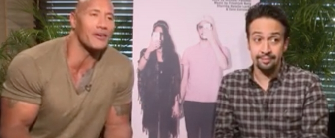 STAGE TUBE: Dwayne Johnson and Lin Manuel-Miranda Team Up for MILLENIALS Musical