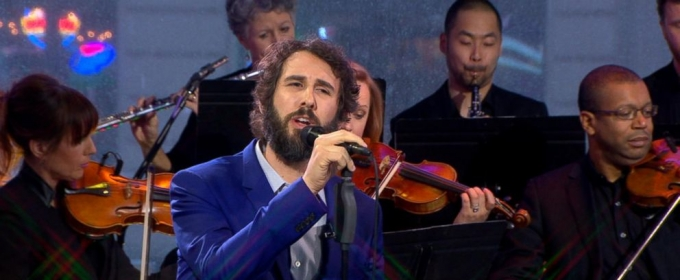 VIDEO: Josh Groban Performs New BEAUTY & THE BEAST Song 'Evermore' Live on 'GMA'