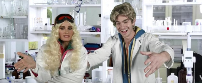 VIDEO: Idina Menzel & Andrew Garfield Star In LATE SHOW's  Summer Blockbuster 'Teenage War'