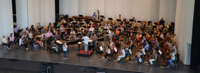 Photo Flash: Sneak Peek at Megan Hilty's Debut Performance With The Philadelphia Orchestra
