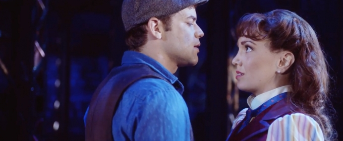 STAGE TUBE: Watch What Happens in the Brand-New Trailer for NEWSIES in Theatres!