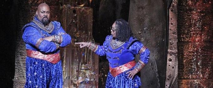 VIDEO: Whoopi Goldberg Cameos in ALADDIN + Meet Broadway's Newest Genie!