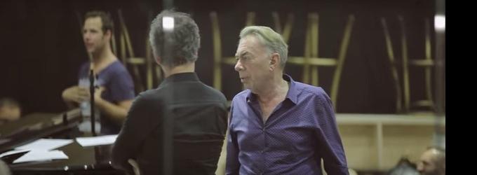 STAGE TUBE: Andrew Lloyd Webber Visits the Cast of LOVE NEVER DIES in Hamburg