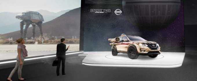 Nissan Brings STARS WARS Excitement to 2017 New York International Auto Show