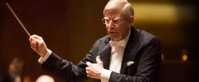 STAGE TUBE: Sneak Peek at Herbert Blomstedt Conducting NY Phil in Beethoven's 7th and 8th