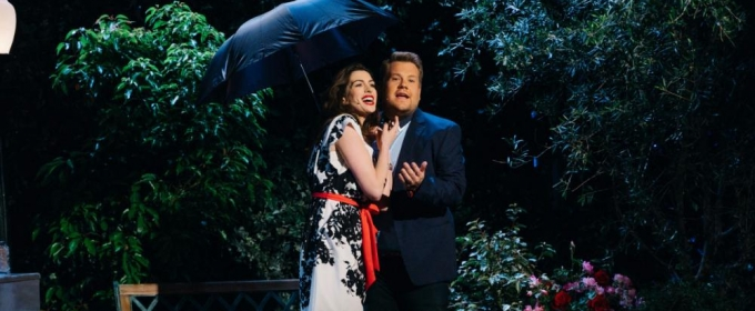VIDEO: Anne Hathaway & James Corden Share a Musical Journey Through a Rom-Com