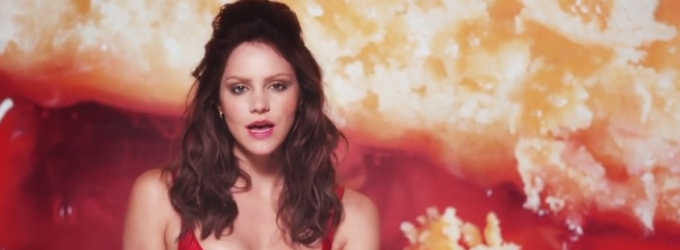 VIDEO: First Look - SMASH Star Katharine McPhee Releases 'Lick My Lips' Music Video