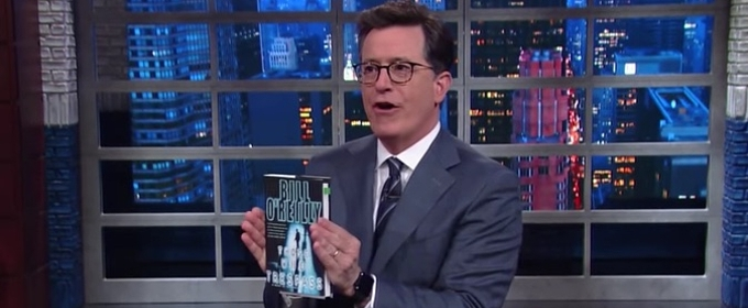 VIDEO: Stephen Colbert Uncovers Ominous Foreshadowing in Bill O'Reilly's 1998 Novel