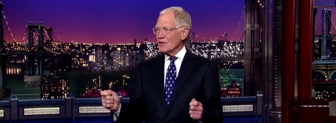 DAVID LETTERMAN Gives Final Opening Monologue: 'Beginning to Look Like I'm Not Going to Get Tonight Show'
