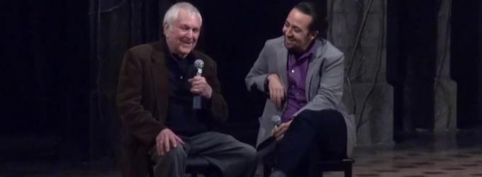 BWW TV Exclusive: Geniuses Unite! Lin-Manuel Miranda Hosts Talkback with John Kander at THE VISIT- Part 1