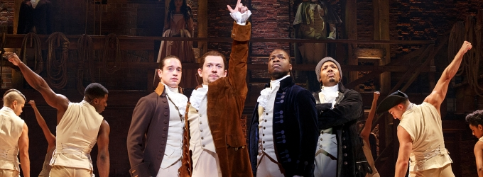 Photo Flash: HAMILTON Takes Its Shot in Chicago- First Look!