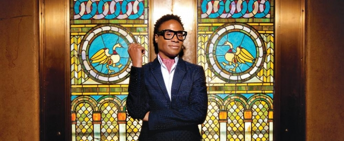 Billy Porter to Bring BROADWAY AND SOUL, Lead Master Class at Kean University