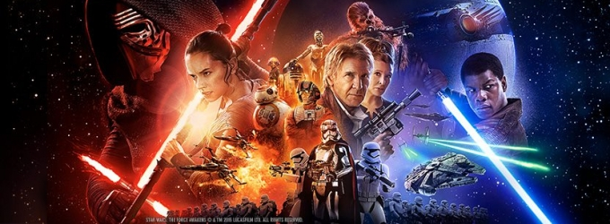 STAR WARS: THE FORCE AWAKENDS TOPS Rentrak's Worldwide Box Office Weekend Results